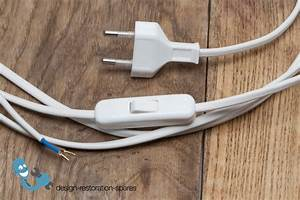 Replacement Cord Cable Set With Switch  U0026 Plug For Verner Panton Panthella Table Lamp