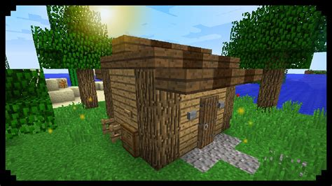minecraft how to make a tool shed