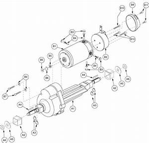 Motor Assembly  Motor  Transaxle  And Brake  For 2nd