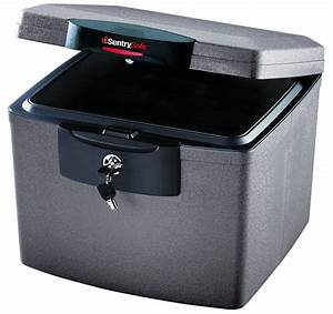 Waterproof document storage boxes for Secure document storage box