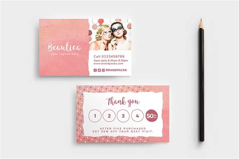 loyalty card templates psd ai vector brandpacks