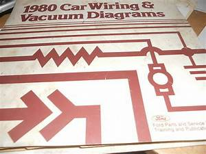 1980 Ford Pinto Mercury Bobcat Wiring Diagrams Set
