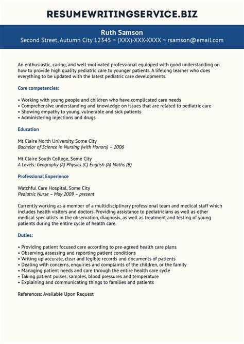 Pediatric Resume by Pediatric Resume Sle Student Stuff Career
