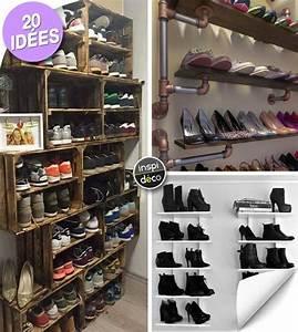 Arum Dans La Maison : comment ranger ses chaussures dans la maison 20 id es inspirantes ~ Melissatoandfro.com Idées de Décoration