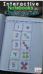 Interactive Math Notebook For Kindergarten Bundle  Daily