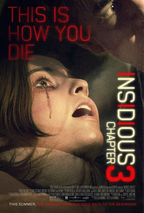 'Insidious': Back To The Further Part III (Movie Review)