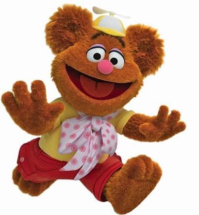 Muppet Babies Fozzie Running Transparent Cartoon Characters