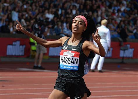 Win the women's 1,500, 5,000 and 10,000 meters. E Sifan Hassan fa il record europeo all'esodio nella mezza!