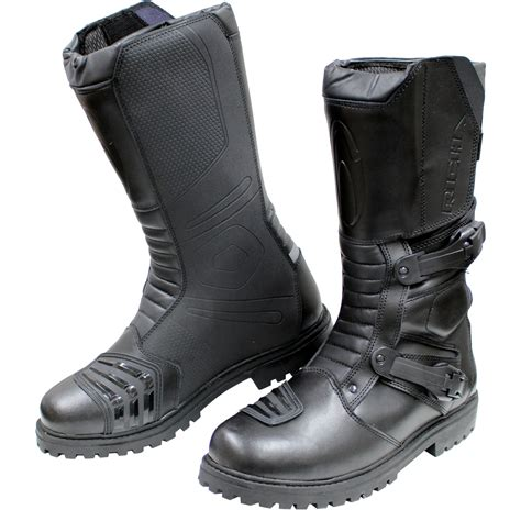 motorcycle touring boots richa adventure off road mx road cross sport leather