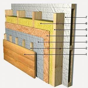 Mur En Osb : faz mur estr mad structure osb pinterest ossature bois construction et bois ~ Melissatoandfro.com Idées de Décoration