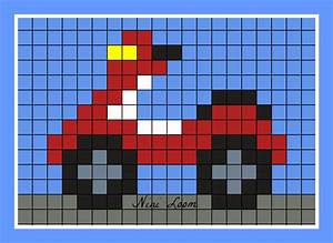 Pixel Art Voiture Facile : pixel art voiture de police ~ Maxctalentgroup.com Avis de Voitures
