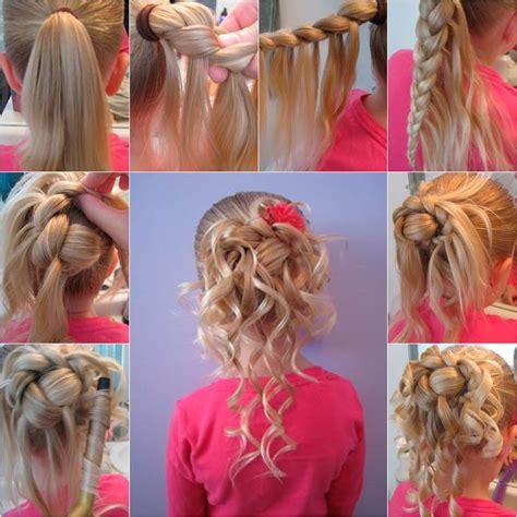 cute hairstyle  girls diy tutorial
