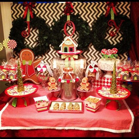 gingerbread christmasholiday party ideas christmas
