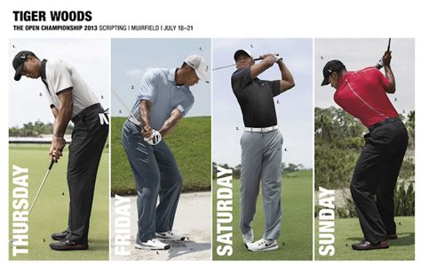 Nike releases Tiger Woodsu0026#39; outfits for British Open - CBSSports.com