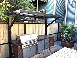Patio, With, A, Fireplace, And, A, Gas, Grill, In, Chicago