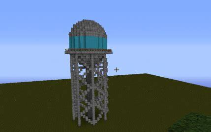modern water tower creation