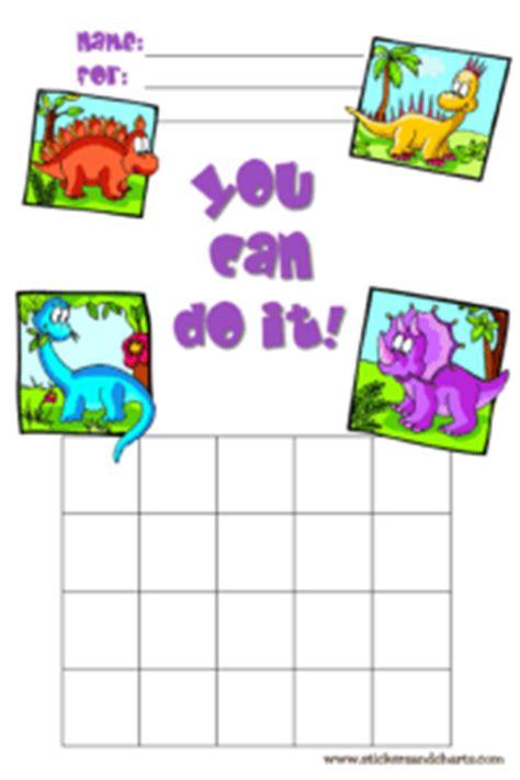 reward charts  kids dinosaurs  prehistoric friends