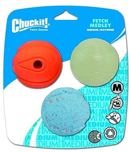 chuckit spielbaelle fuer hunde farbe zufaellig groesse