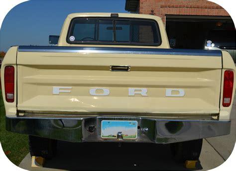 Ford Tailgate by White 72 79 Ford Truck Fleetside Ranger Tailgate