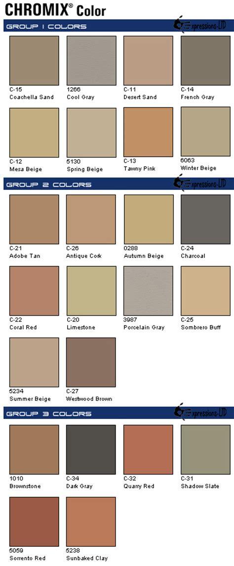 scofield color chart expressions ltd concrete integral color powder scofield