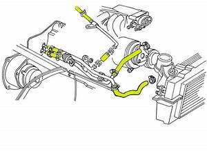 1987 Corvette Engine Cooling System Rubber Hose Set  Coupe