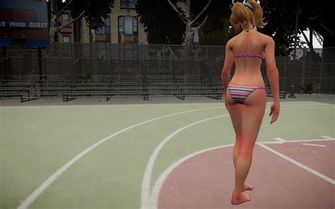 gta  juliet starling striped bikini mod gtainsidecom
