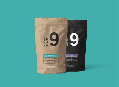 Discover 93 pouch mockup designs on dribbble. Free Kraft Paper Coffee Pouch Mockup (PSD)