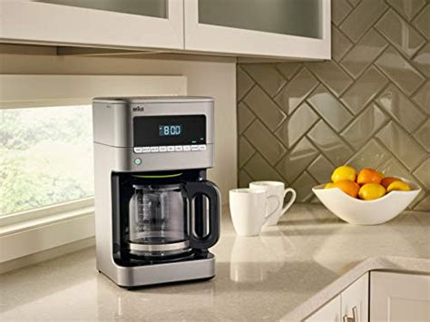 Braun Kf7170si Brewsense Drip Coffeemaker, 12 Cup Farberware K Cup Coffee Maker Instructions Buzz Image Next To Name On Facebook Powder Ground At Costco Heart Imagery Jura 15182 Automatic Machine Z6 Aluminum Black