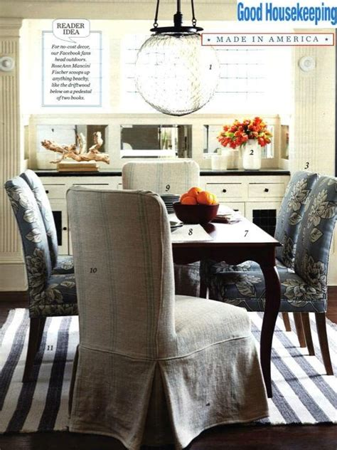 Shabby Chic Dining Room Chair Covers by Shabby Chic Grainsack Slipcover Dining Chair Slipcover