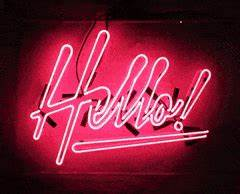 pink neon sign GIFs