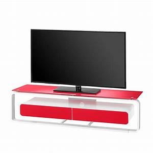 Tv Möbel Rot : tv rack shanon wei glas rot 150 cm maja m bel kaufen m bel depot ~ Whattoseeinmadrid.com Haus und Dekorationen