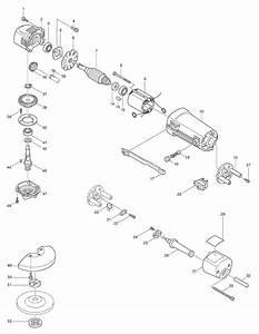 Buy Makita 9501b 4 U201d Disc Replacement Tool Parts