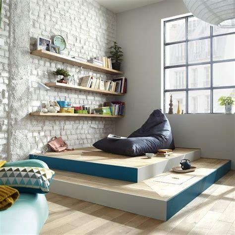 estrade pour chambre aménager une chambre cosy avec une estrade