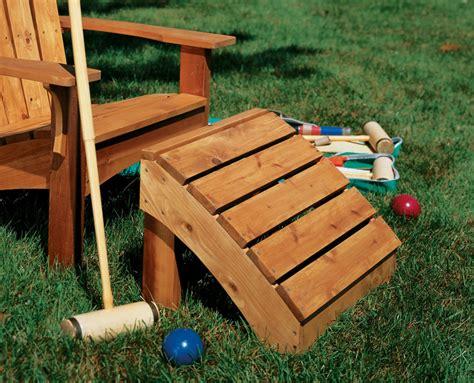 Adirondack Chair Ottoman Plans adirondack chair table