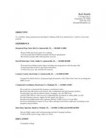 Objective On Resume For Barista Resume Template Example