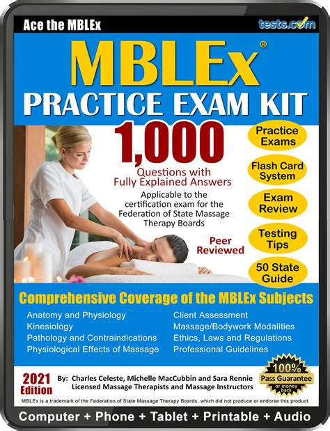 Pearson vue offers general life, accident and health, property, and casualty practice tests for exam code: Practice Exam Kit for the MBLEx