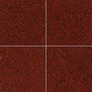New Imperial Red Granite 12 in. x 12 in.Polished Tile