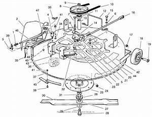 Toro 8 25 Parts Diagram