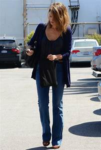 JESSICA ALBA Out and About in Los Angeles - HawtCelebs