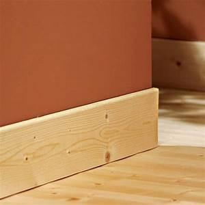 Plinthe Bois Electrique : plinthe sapin du nord 13x95mm bord arrondi acheter au meilleur prix ~ Melissatoandfro.com Idées de Décoration