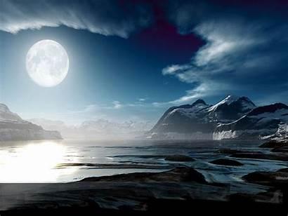 Moonlight Romantic Wallpapers Moon Dream Dreams Night