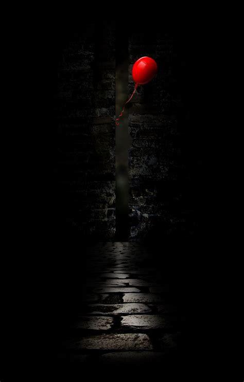 red balloon    feelings red balloon black