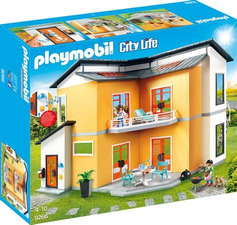 Playmobil City Life Modern House Skroutzgr