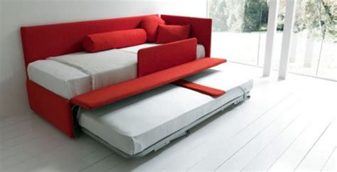 with pull out bed modern pullout beds ideas storage