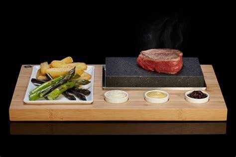 lavasteine für grill the steakstones sizzling steak set ss001 steakstones