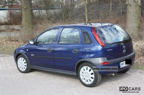 Opel Corsa 1 2 by 2003 Opel Corsa 1 2 16v Elegance Car Photo And Specs