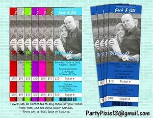 jack and jill stagette buck and doe party invitation ticket With jack and jill ticket templates