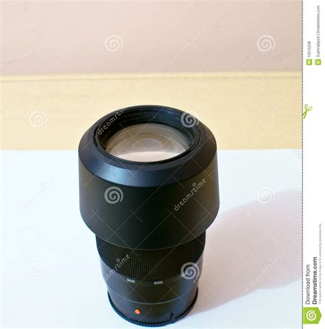 DSLR Camera with Zoom Lens