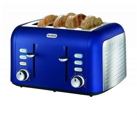 breville opula 4 slice matt blue toaster ebeez co uk - Breville Blue Toaster