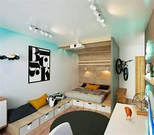 Wandgestaltung Für Jugendzimmer : kreative wandgestaltung f r jugendzimmer und kinderzimmer ~ Markanthonyermac.com Haus und Dekorationen